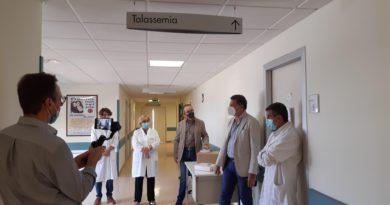 UN ELETTROCARDIOGRAFO DONATO DA FASTED LENTINI AL REPARTO DI TALASSEMIA